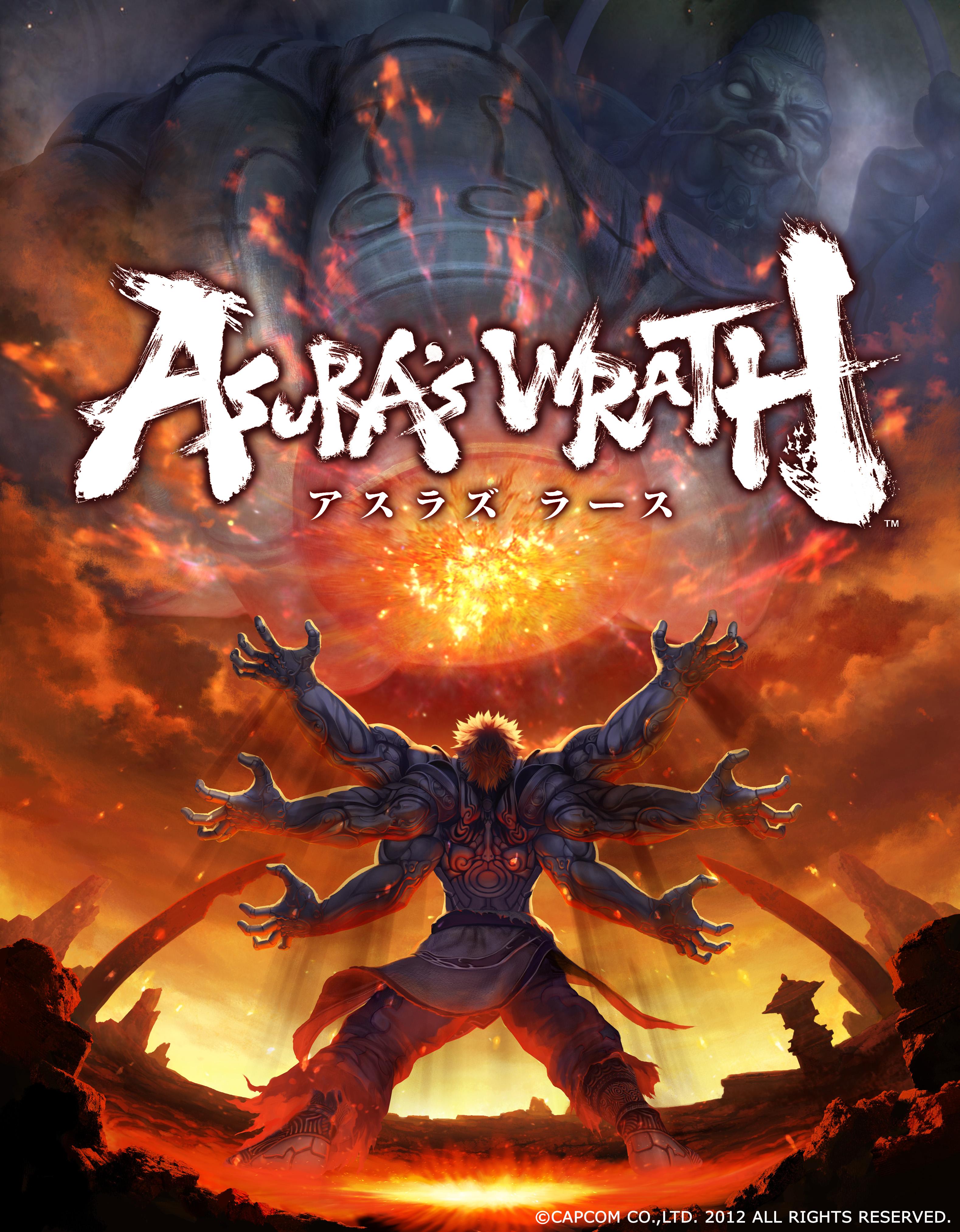 「ASURA'S WRATH」E3用アート+コピーライト